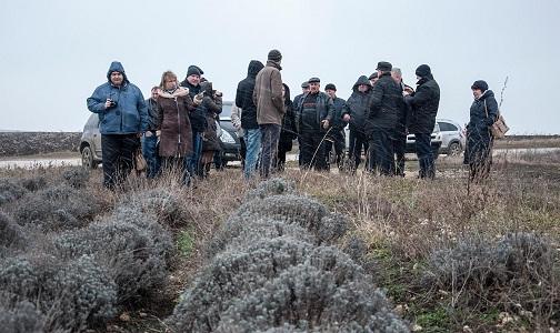 Визит Приднестровских фермеров и предпринимателей на плантацию лаванды в с.Кобуска Ноуэ, производство по переработке ароматической продукции, и проведение семинара