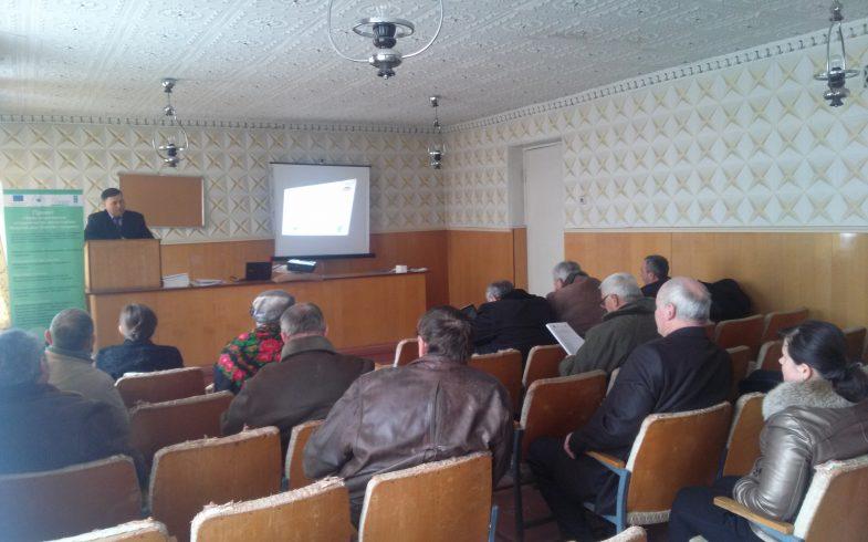 Семинар посвященный развитию экологического сельского хозяйства в Слободзейском районе
