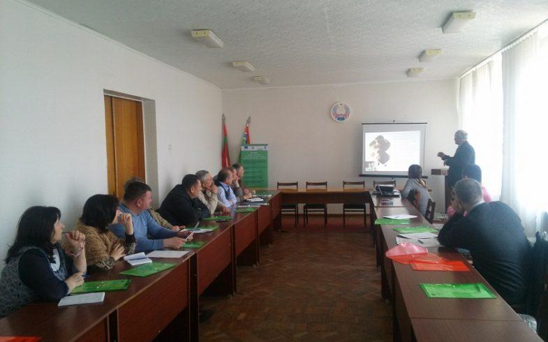 Семинар посвященный развитию экологического сельского хозяйства в Григориопольском районе