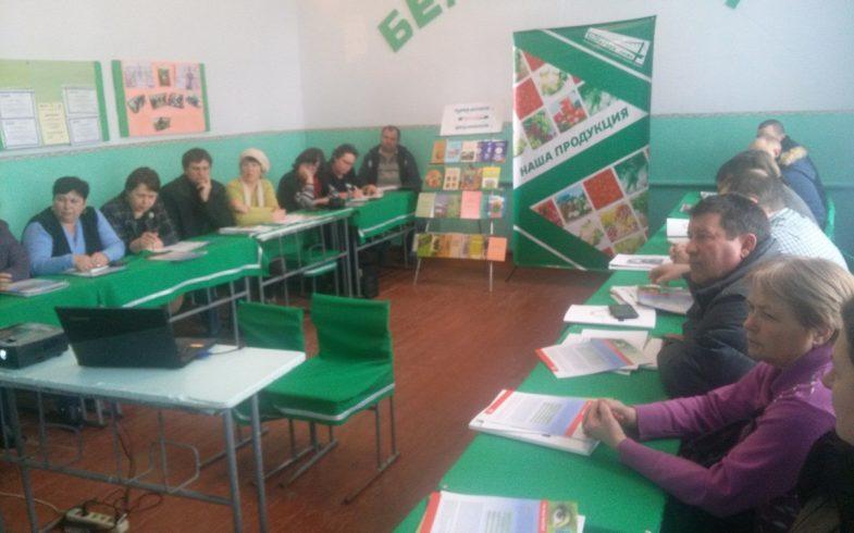 Семинар посвященный развитию экологического сельского хозяйства в с.Кицканы