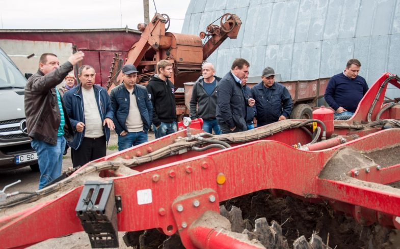 Визит сельскохозяйственных специалистов в экологическое хозяйство Украины